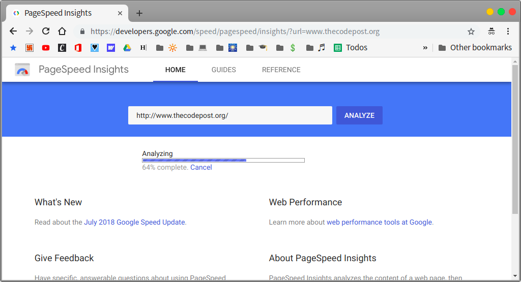 Google Performance Insights will give you a more unbiased result for your WordPress speed improvement