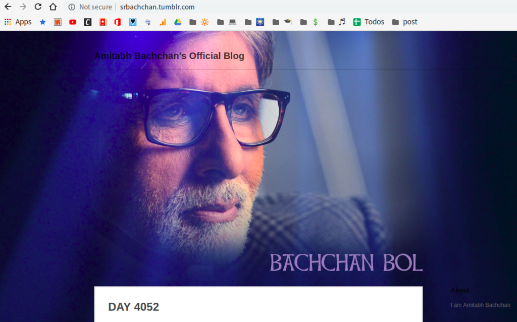 amitabh bacchan does not have to care about long form content or any content for that matter