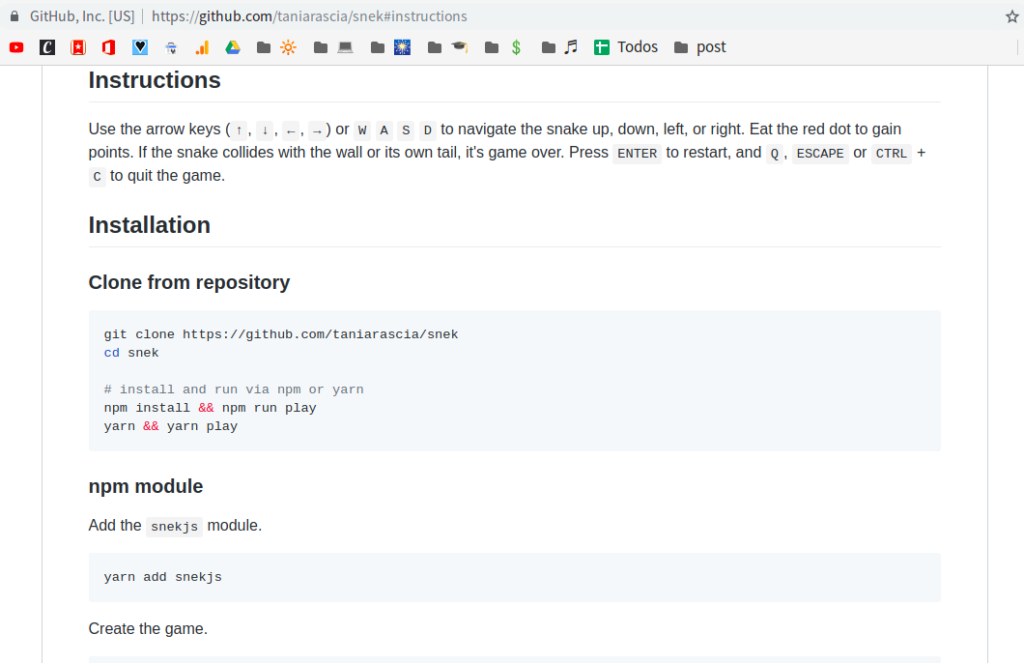 github using in page permalinks to link content