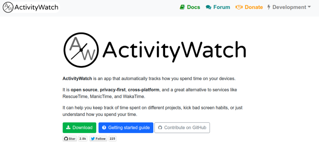 activity watch