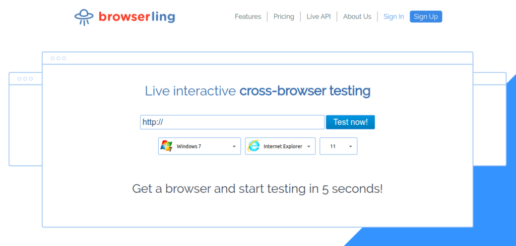 browserling image