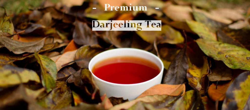 darjeeling premium tea landing page